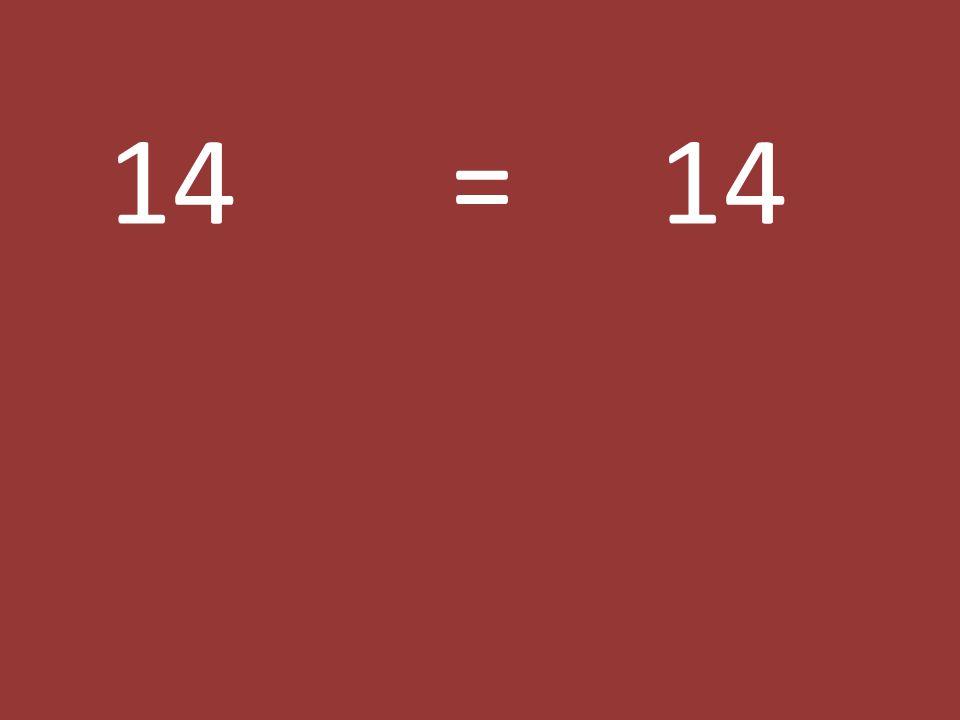 14 = 14