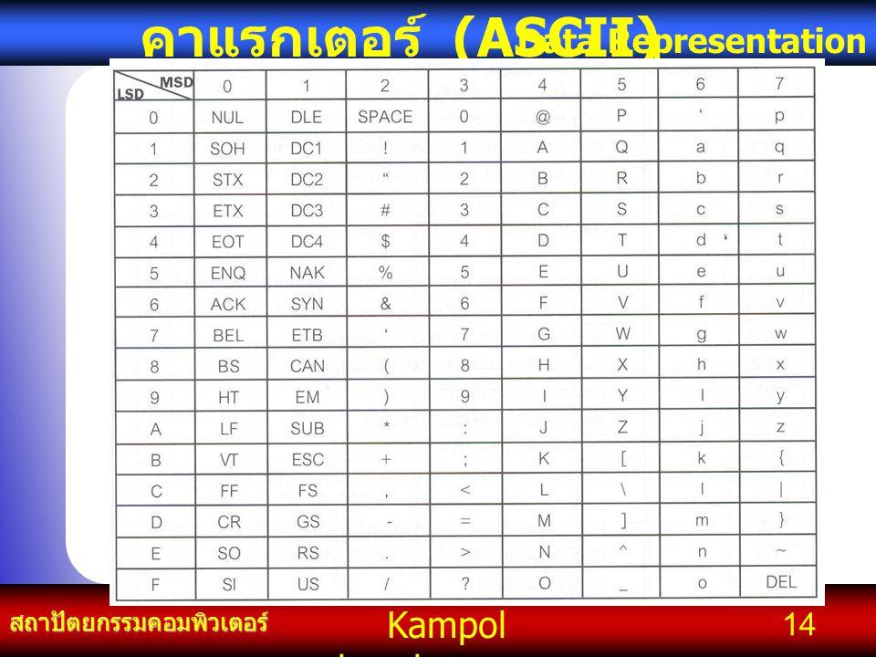 คาแรกเตอร์ (ASCII)