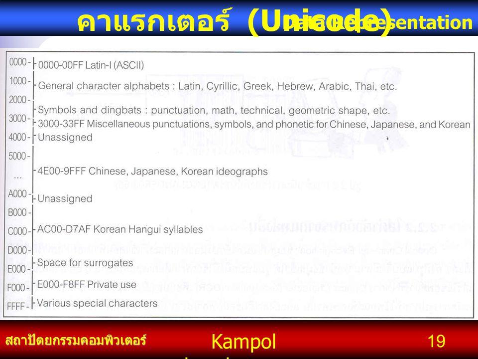 คาแรกเตอร์ (Unicode)