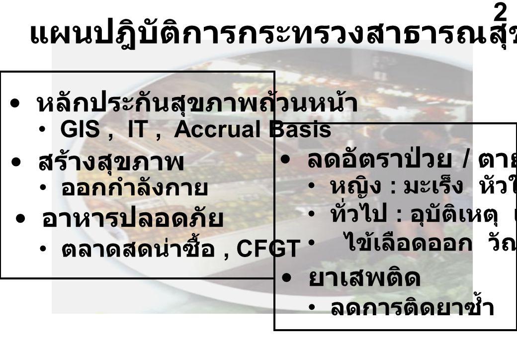 แผนปฎิบัติการกระทรวงสาธารณสุข ปี 2547