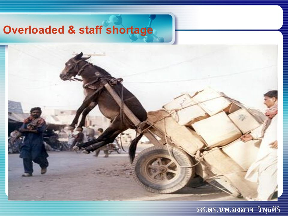 Overloaded & staff shortage
