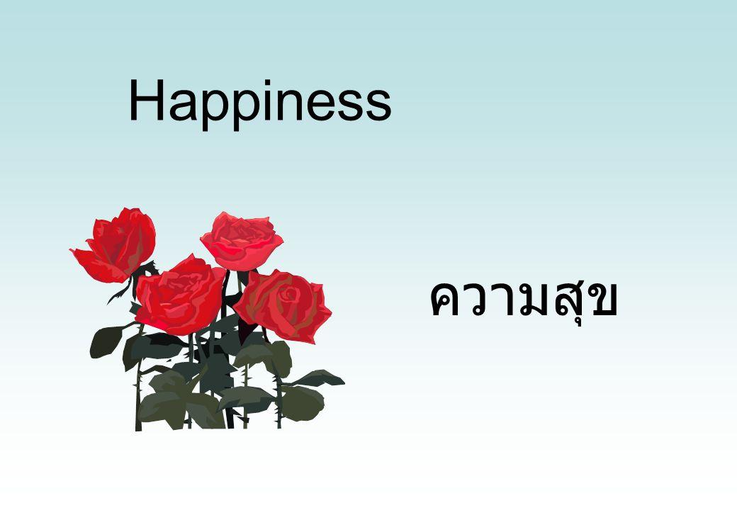 Happiness ความสุข