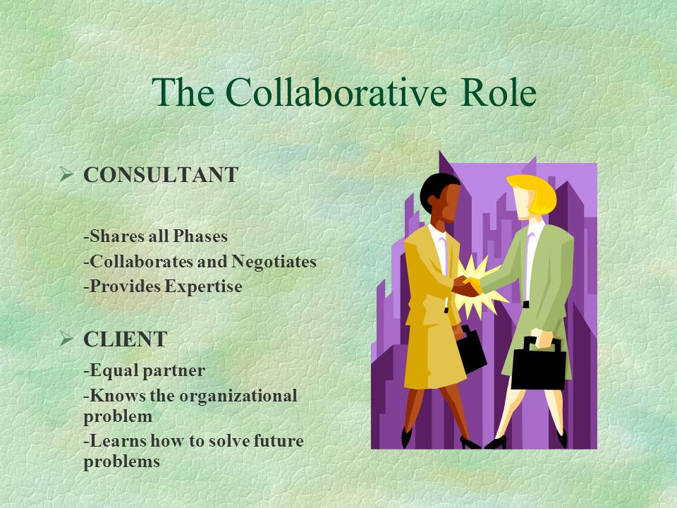 The Collaborative Role