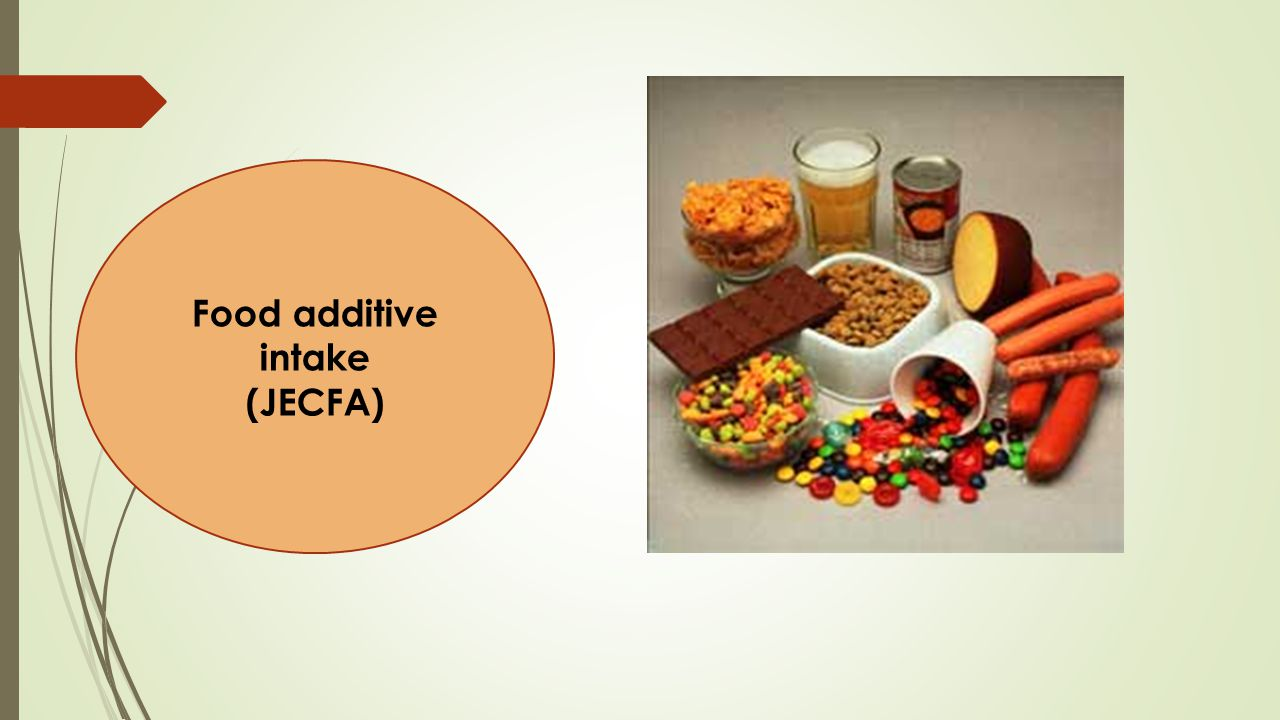 Food additive intake (JECFA)
