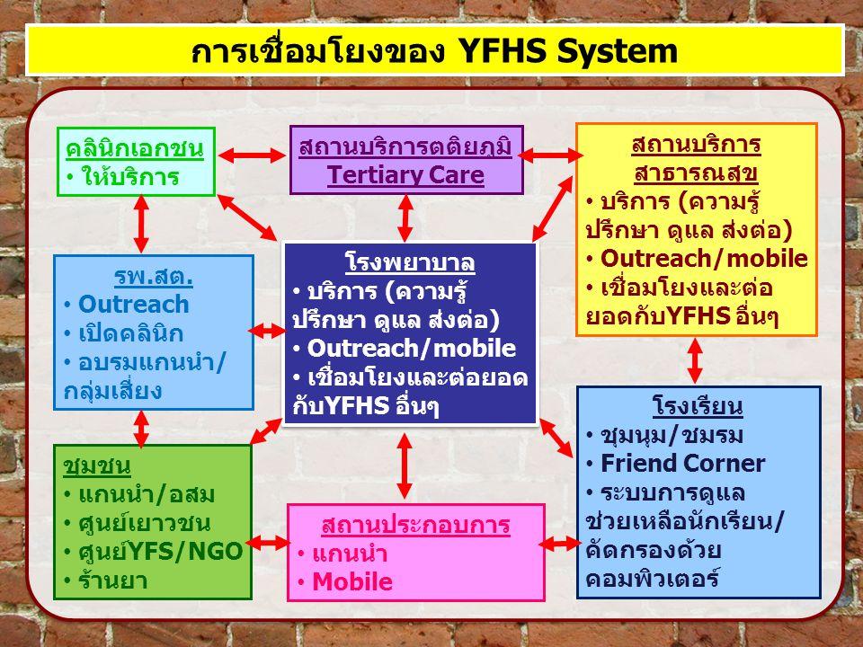 การเชื่อมโยงของ YFHS System