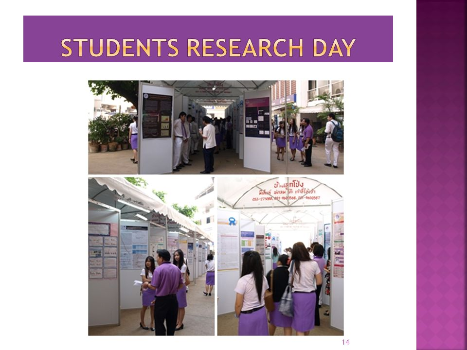 Students research day