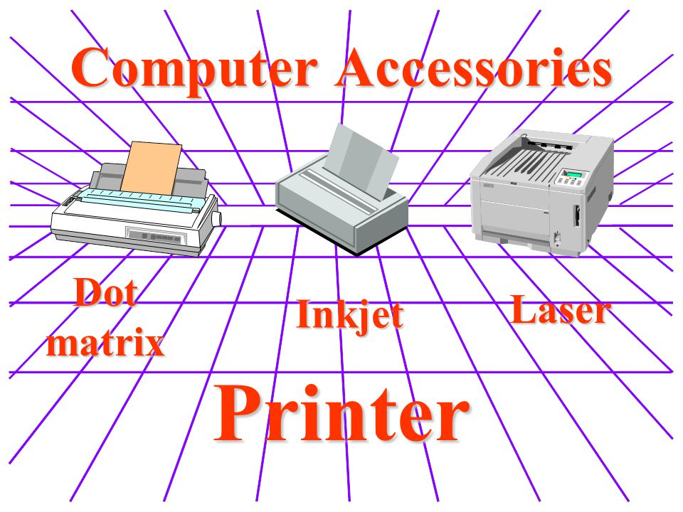 Computer Accessories Dot matrix Laser Inkjet Printer