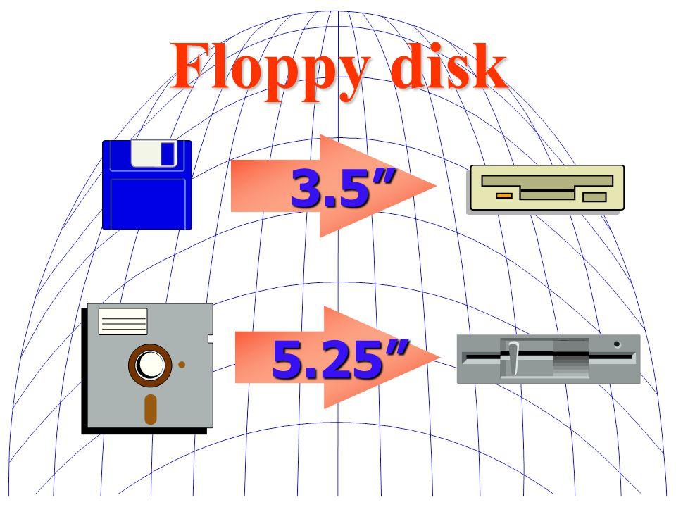 Floppy disk 3.5 5.25