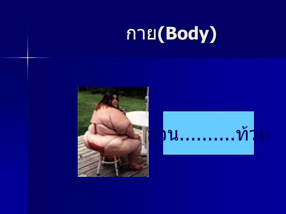 กาย(Body) อ้วน..........ท้วม