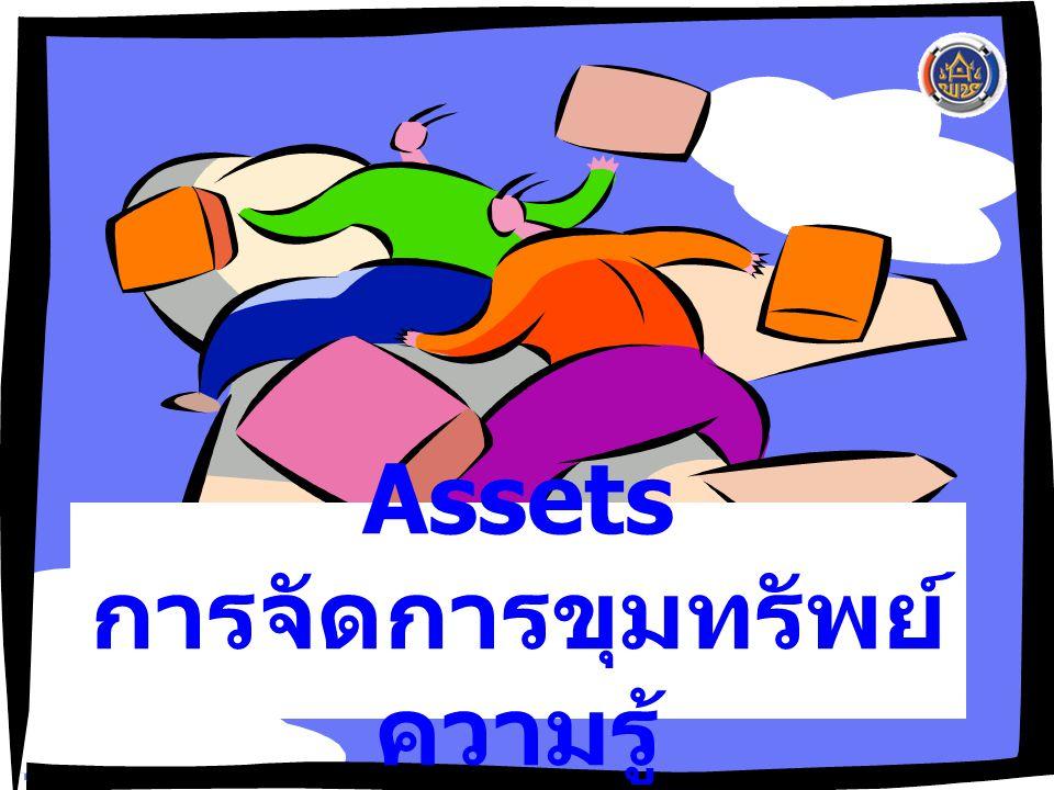 Assets การจัดการขุมทรัพย์ความรู้