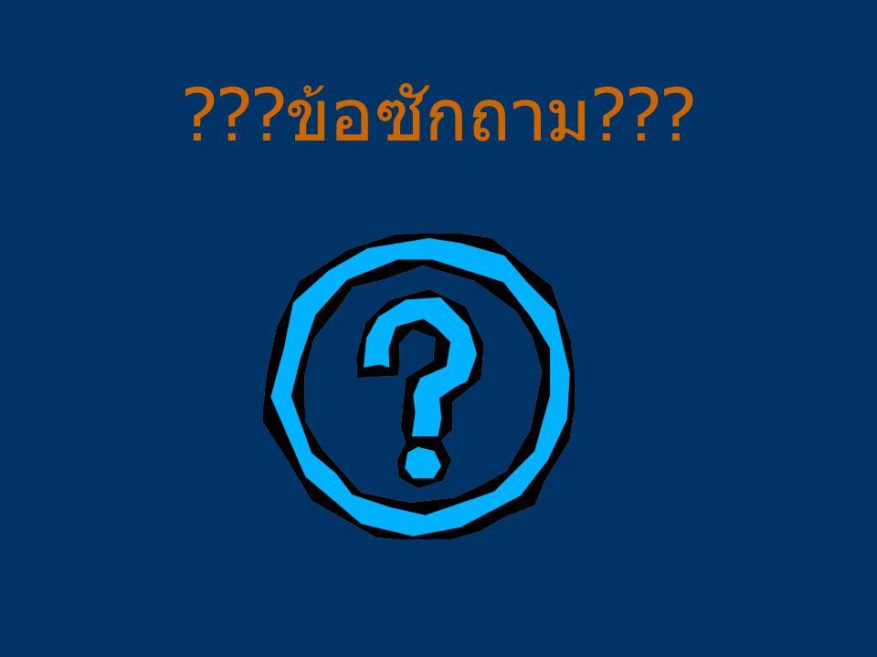 ข้อซักถาม