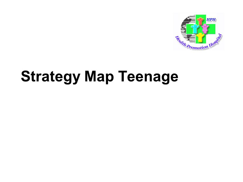 Strategy Map Teenage