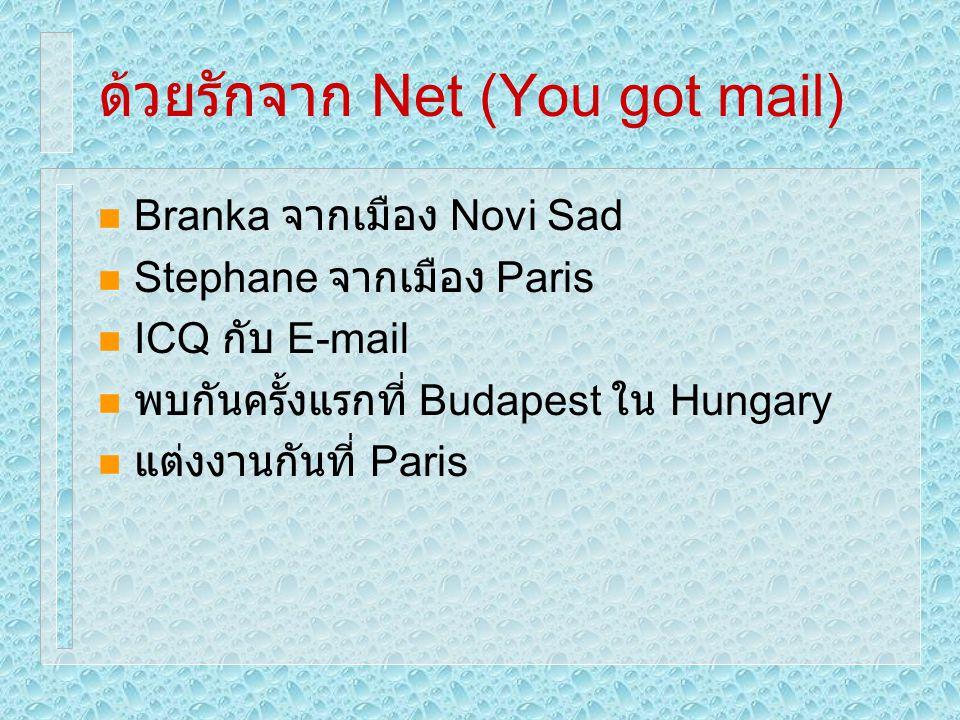 ด้วยรักจาก Net (You got mail)
