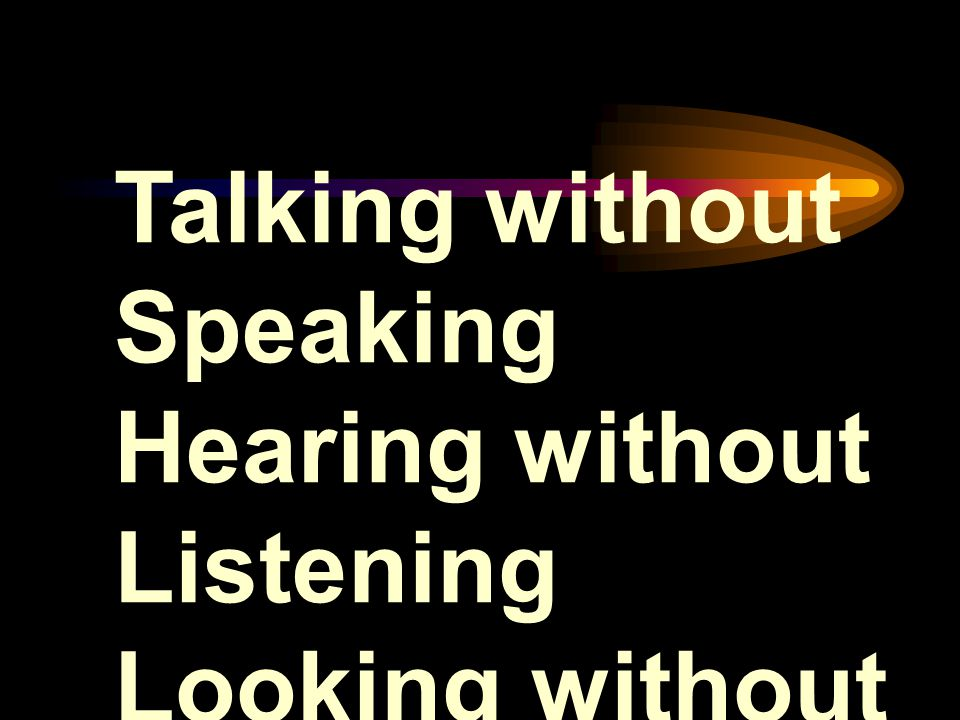 Talking without Speaking