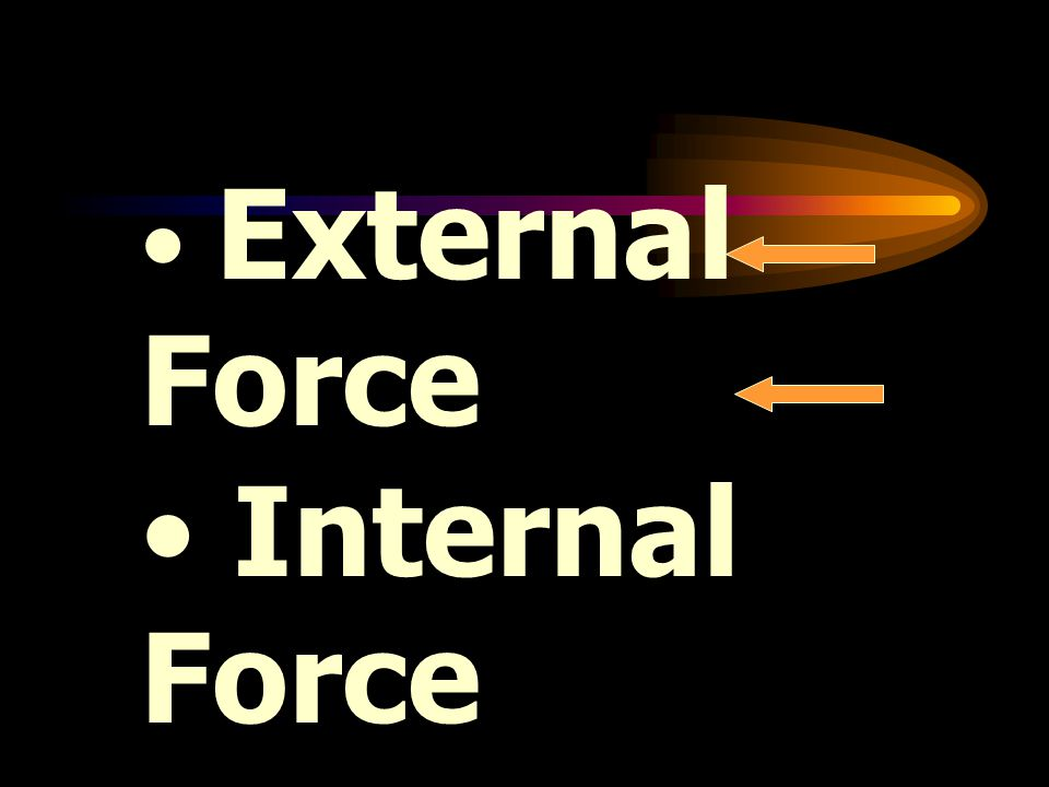 External Force Internal Force