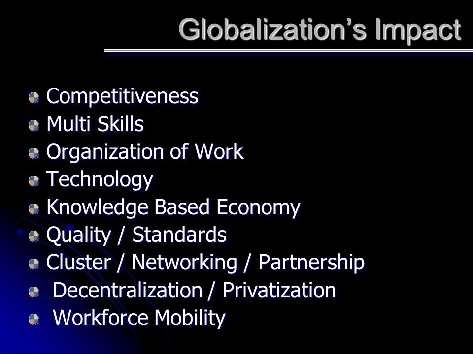 Globalization's Impact