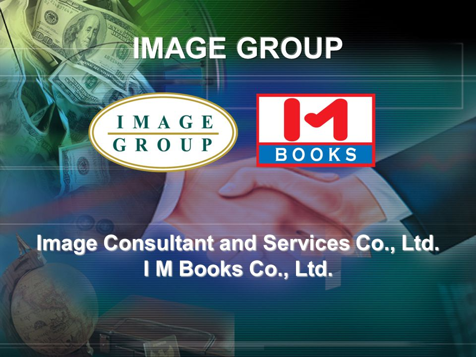 Image Consultant and Services Co., Ltd. I M Books Co., Ltd.