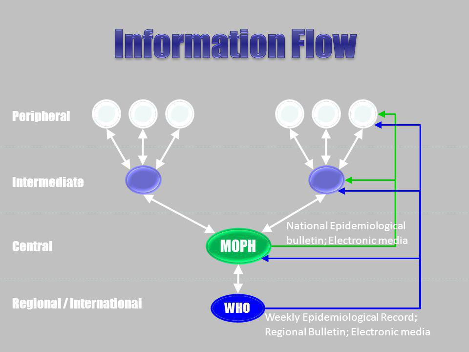 Information Flow MOPH Peripheral Intermediate Central