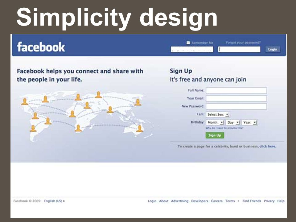 Simplicity design
