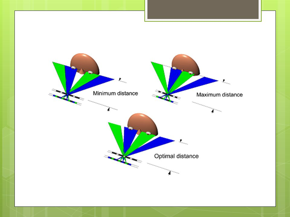 Figure 7: Spacing of channels in a static barrier system varies with