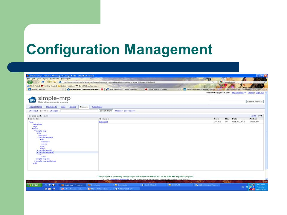 Configuration Management