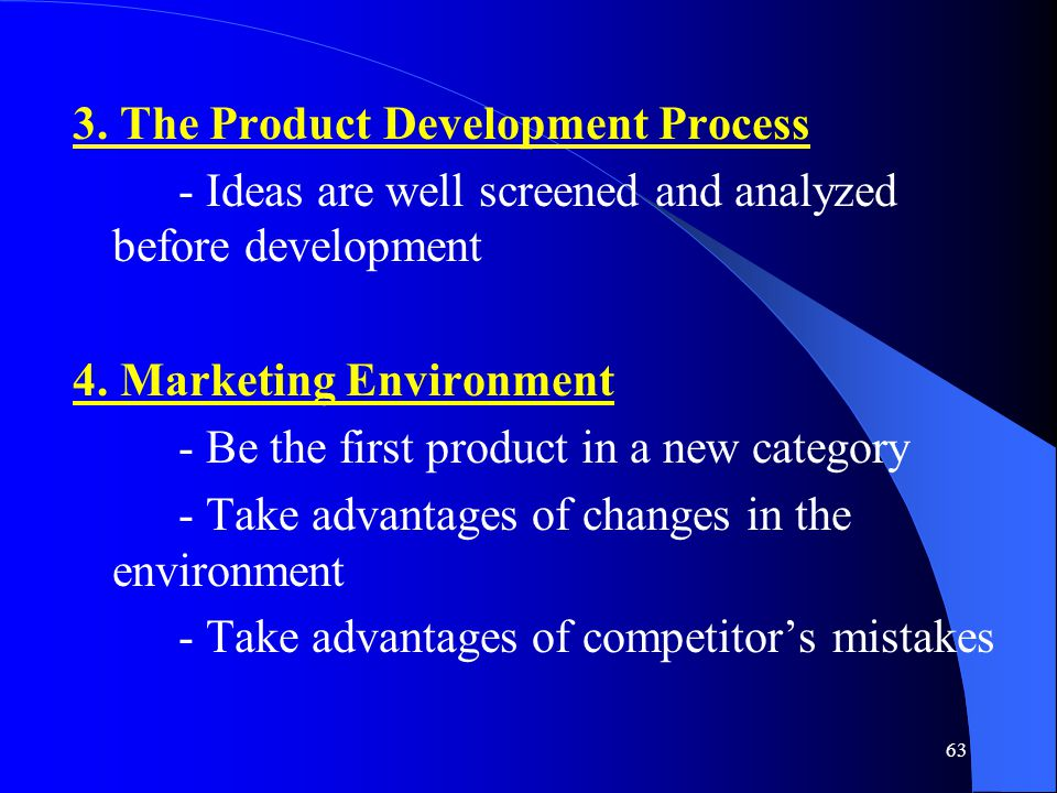 3. The Product Development Process