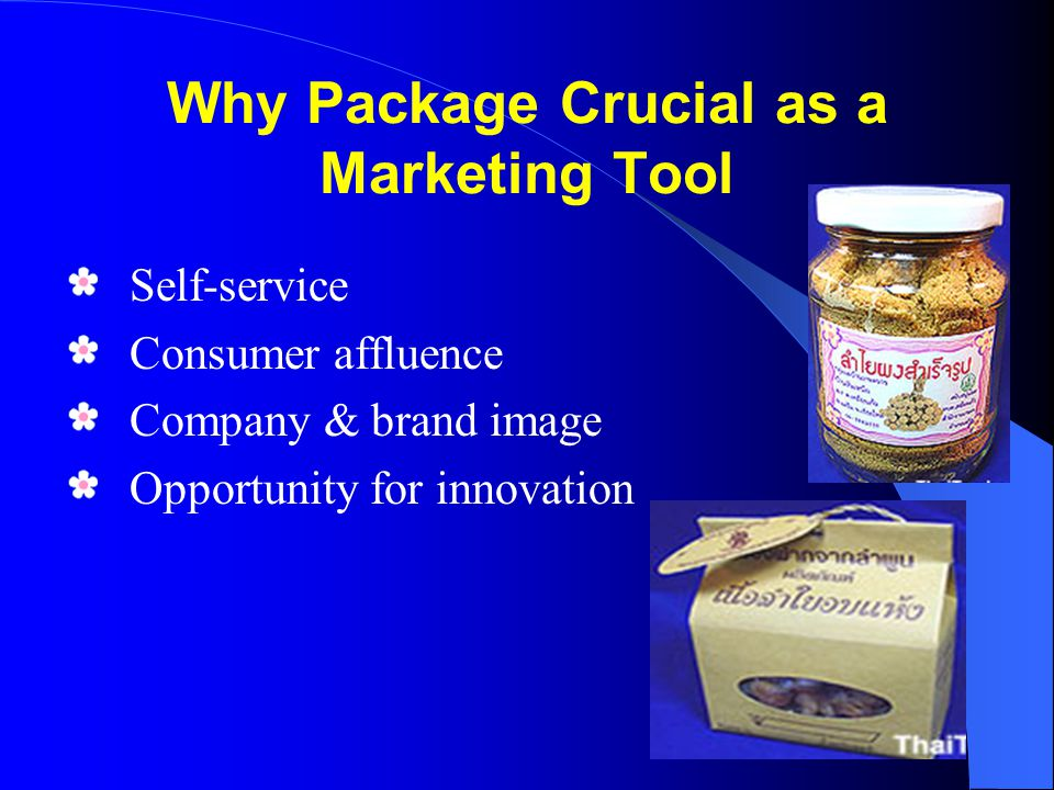 Why Package Crucial as a Marketing Tool