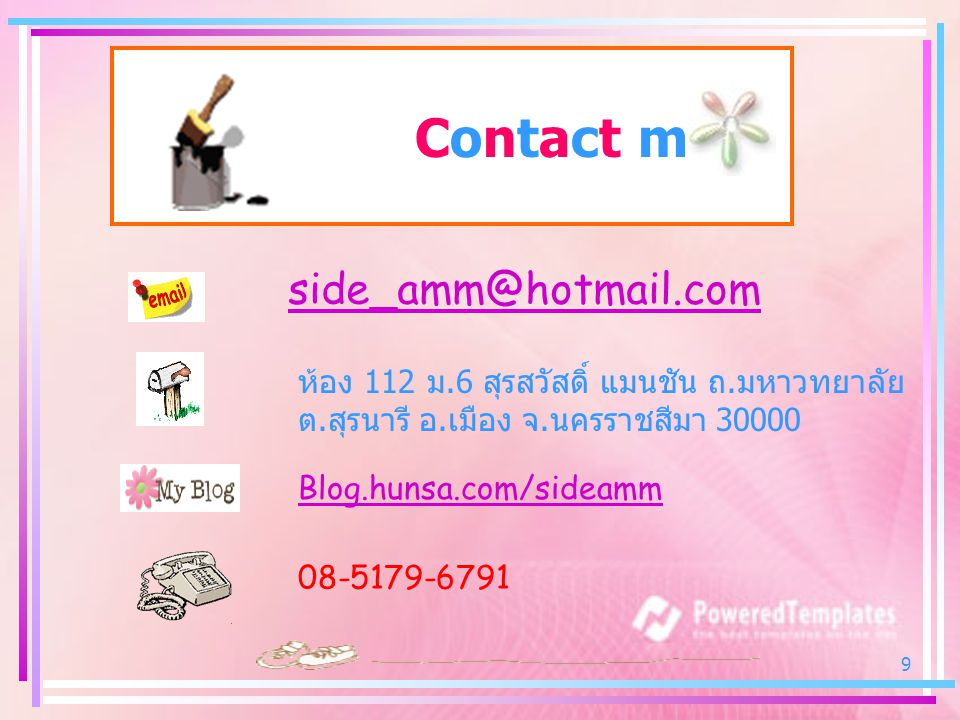 Contact me side_amm@hotmail.com