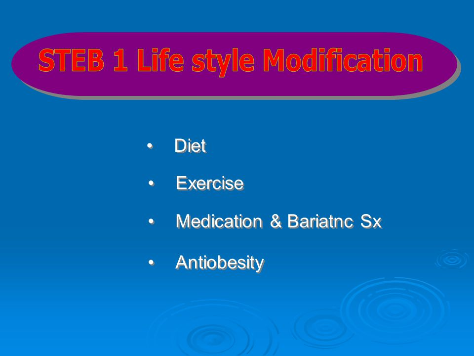 STEB 1 Life style Modification