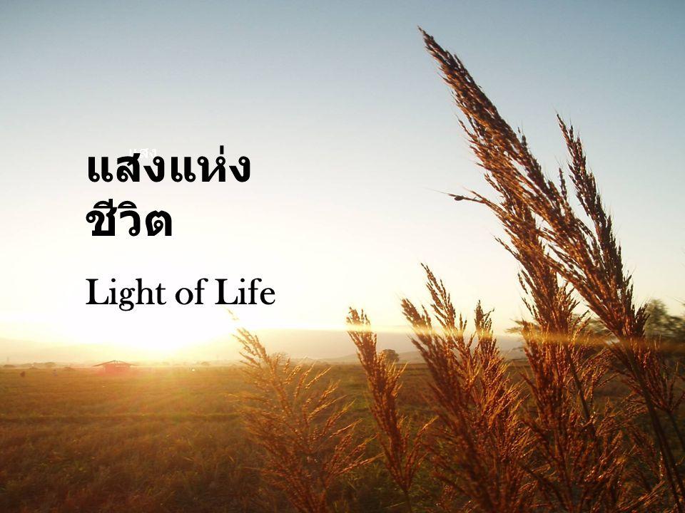 แสงแห่งชีวิต Light of Life แสง