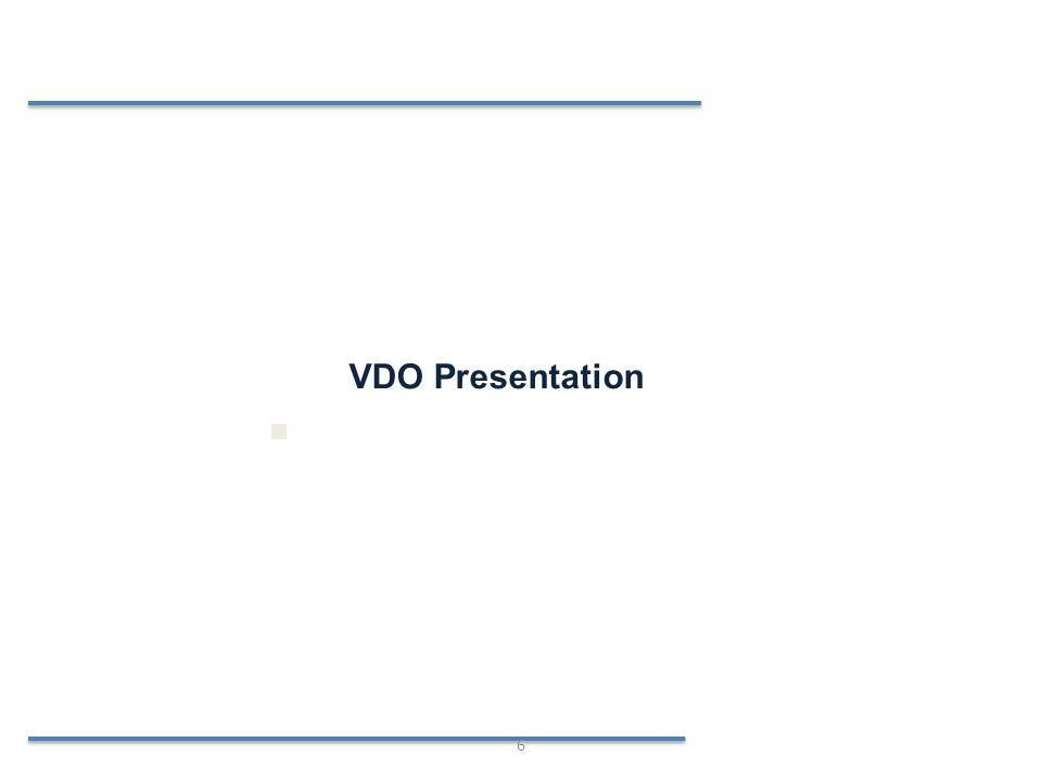 VDO Presentation