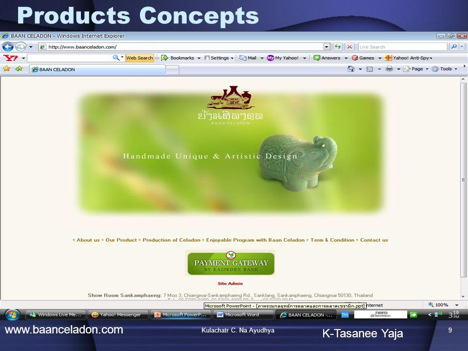 Products Concepts www.baanceladon.com K-Tasanee Yaja