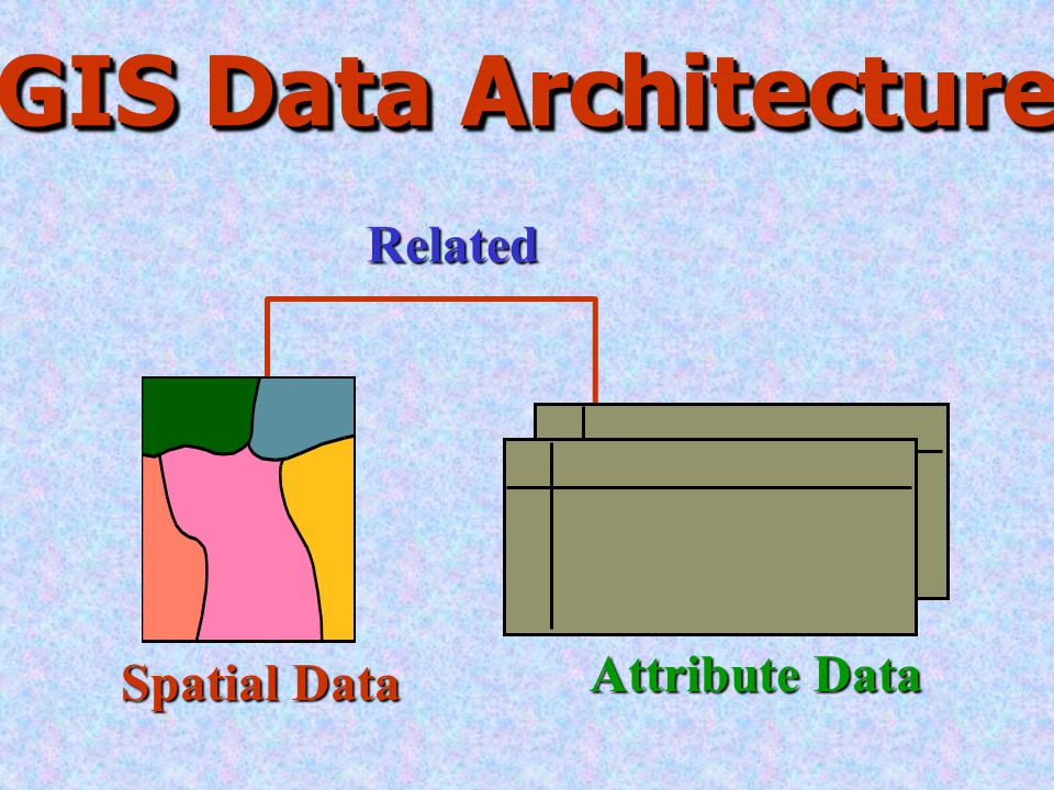 spatial and attribute data in gis pdf