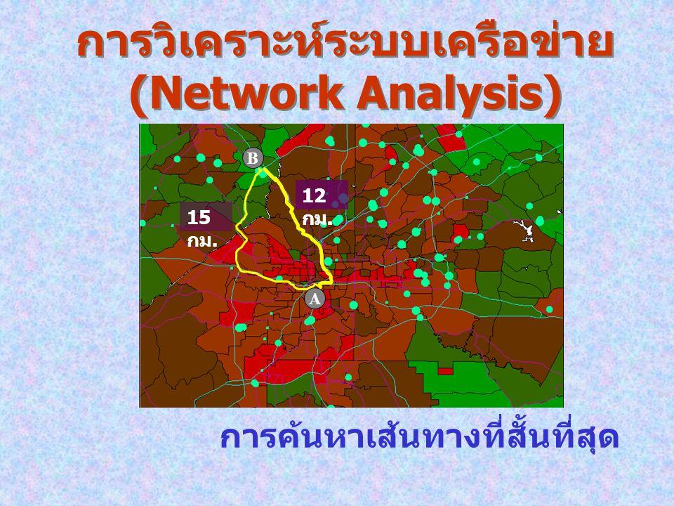 การวิเคราะห์ระบบเครือข่าย (Network Analysis)
