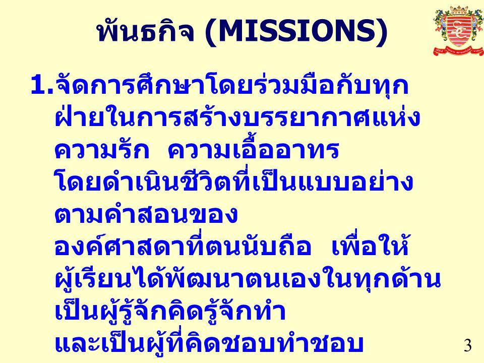 พันธกิจ (MISSIONS)