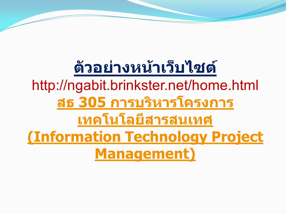 (Information Technology Project Management)