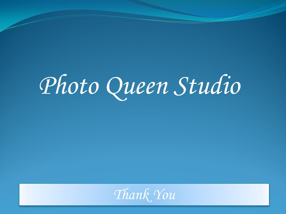 Photo Queen Studio Thank You
