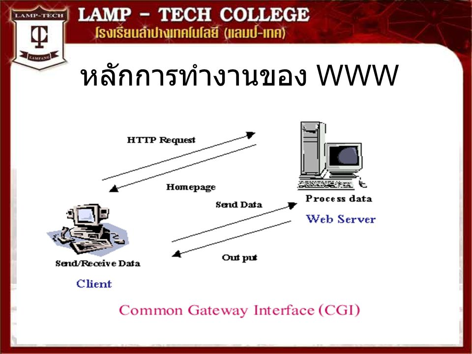 หลักการทำงานของ WWW