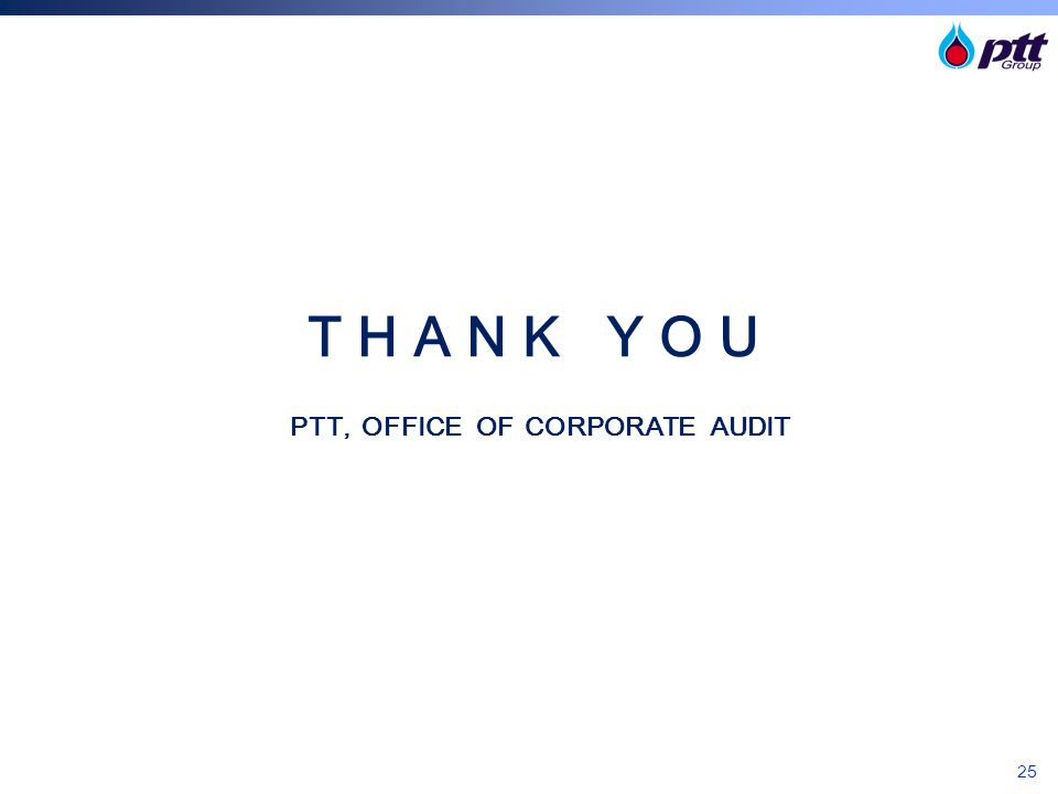 PTT, OFFICE OF CORPORATE AUDIT