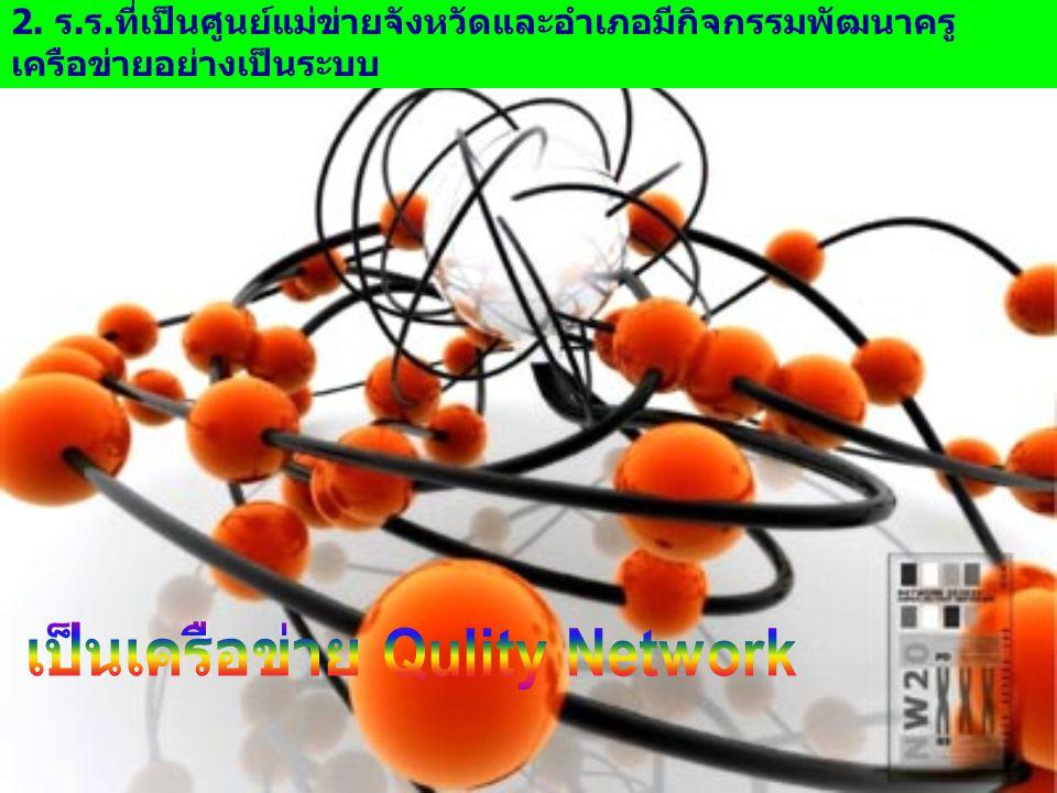 เป็นเครือข่าย Qulity Network