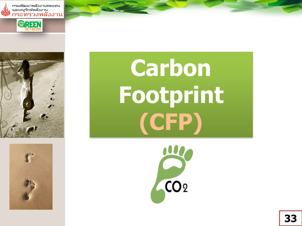Carbon Footprint (CFP)