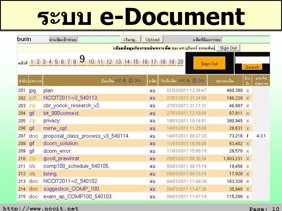ระบบ e-Document