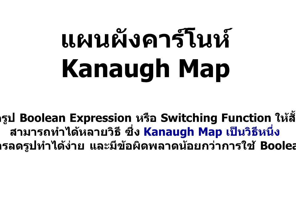 แผนผังคาร์โนห์ Kanaugh Map