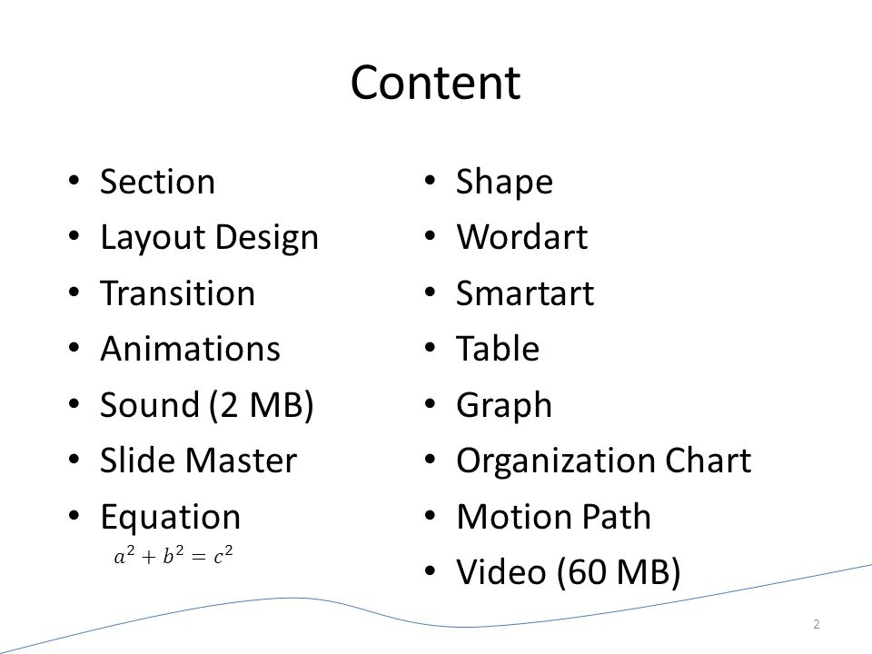 Content Section Layout Design Transition Animations Sound (2 MB)