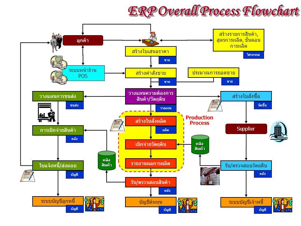 ERP Overall Process Flowchart