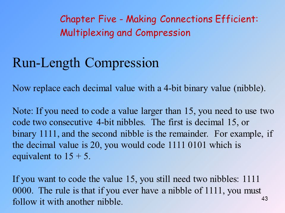 Run-Length Compression