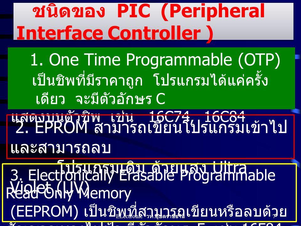 ชนิดของ PIC (Peripheral Interface Controller )