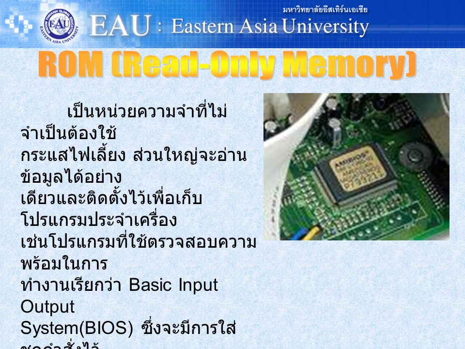 ROM (Read-Only Memory)
