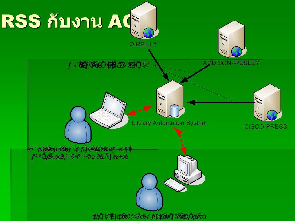 RSS กับงาน ACQ.