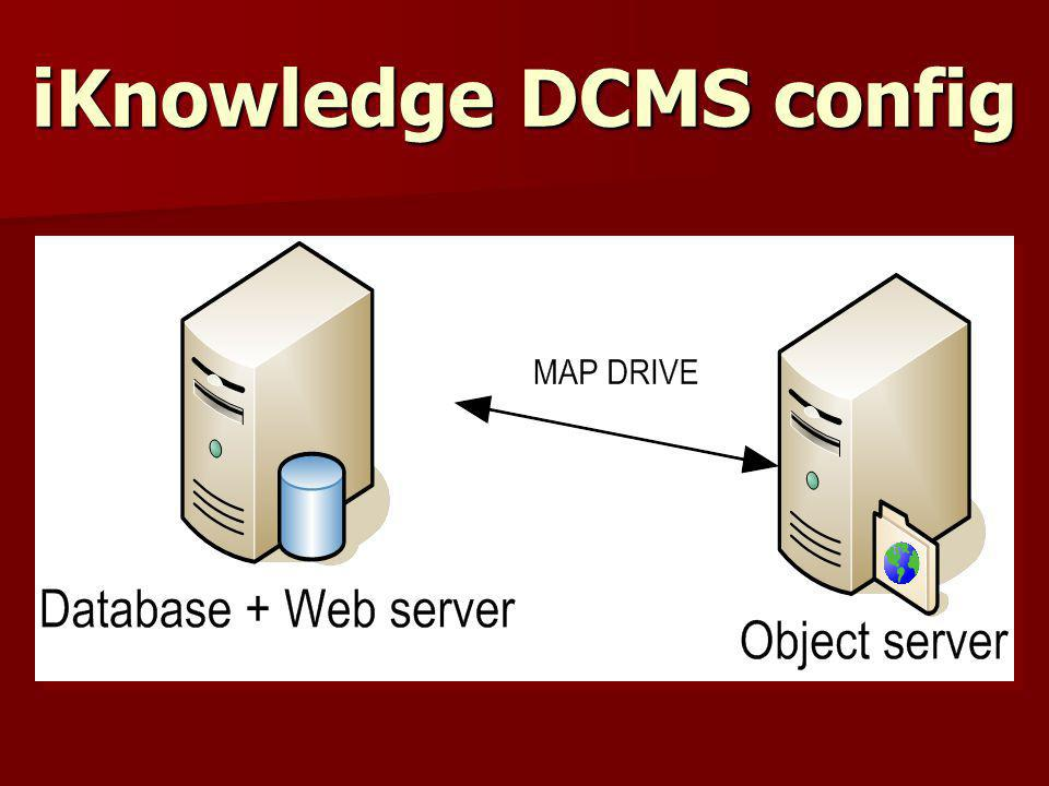 iKnowledge DCMS config